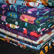 Load image into Gallery viewer, Cotton Lycra Fabric For Kids Fashion