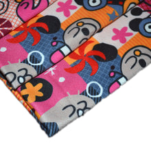 Load image into Gallery viewer, Polyester Double Brushed Fabric With fun cartoon pattern 31818299
