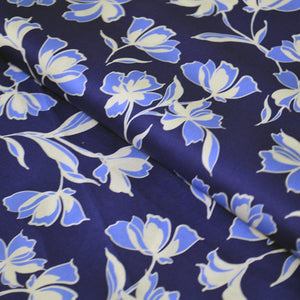 Cotton Satin Fabric With Flower pattern 34198149