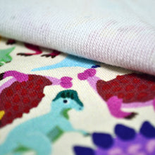 Load image into Gallery viewer, Cotton French Terry Fabric For seamless dinosaur pattern 8598886