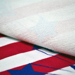 Cotton French Terry Fabric With Seamless patterns with American symbols 43441198