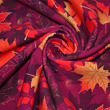 Load image into Gallery viewer, Cotton French Terry Fabric With Autumn seamless 13673369