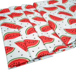 Swim Wear Fabric Polyester Lycra With Seamless background with watermelon slices 31426128