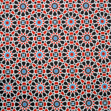 Load image into Gallery viewer, Swim Wear Fabric Polyester Lycra With Arabesque seamless pattern in editable 13870157