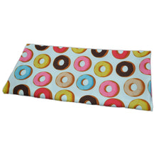 Load image into Gallery viewer, Swim Wear Fabric Polyester Lycra With Colorful donuts cookies seamless background 38742539