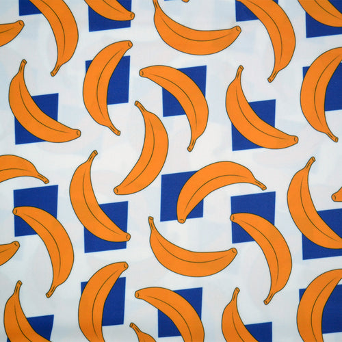 Swim Wear Fabric Polyester Lycra With banana pattern 26263465