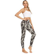 Load image into Gallery viewer, Hot Sell Lady Sport Wear Custom Activewear Print Textured Woman Set Fitness Leggings