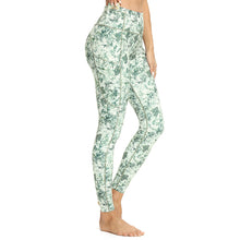 Load image into Gallery viewer, Custom Female Pocket Waistband Print Trouser Sport Wear Leggings