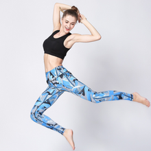 Load image into Gallery viewer, Custom Activewear Printed Leggings High Waist Sport Fitness Pants For Women