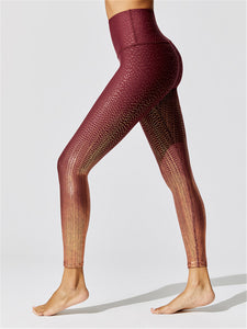 Custom Logo High Waist Pants Oem 3D Print Legging Women
