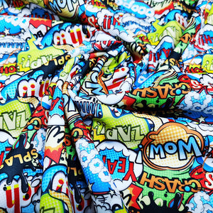 PUL Fabric Multicolored comics speech bubbles seamless pattern 54790927
