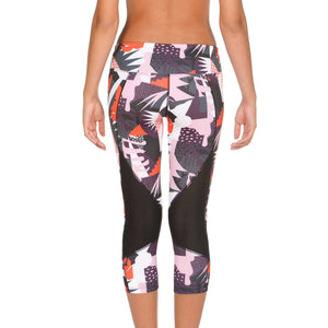 Hot-Selling Custom Sublimation Print Leggings Custom Compression Capri Leggings