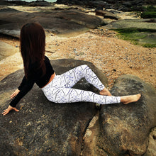Load image into Gallery viewer, Women Print High Waist Yoga Leggings Female Fitness Sport wear