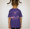 195 Three-view Girls Baby/Toddler/Youth shirts