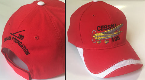 Cessna 195 Hat - (Performance) Foundation Fundraiser