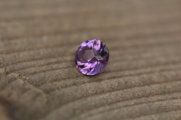Amethyst Calibrated Size Precision Cut Round Gemstone - Precision Cut Amethyst - Brazilian Amethyst - Loose Gemstone