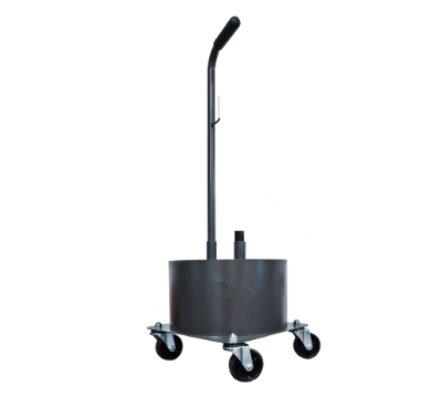 22L Canister Aluminum Trolley