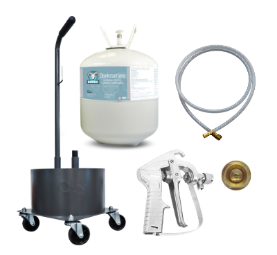 22L Kit Package with Standard Spray Gun