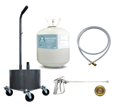 "22L Kit Package with 18"" Spray Gun"