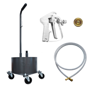 Trolley Tool Kit with M120 Spray Gun