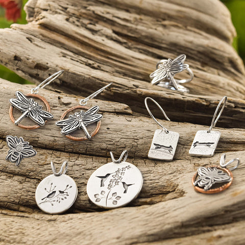 Wildlife Collection handmade by Beth Millner Jewelry