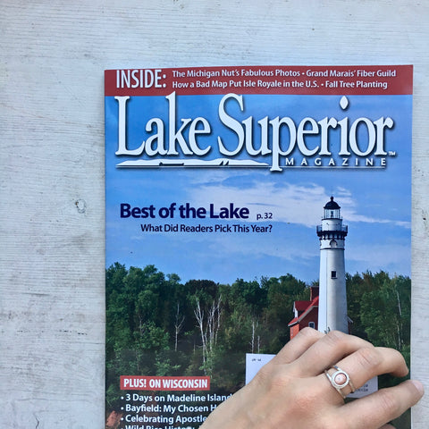 Lake Superior Magazine's Best of the Lake 2017 featuring Beth Millner Jewelry