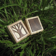handcrafted wooden box beth millner jewelry