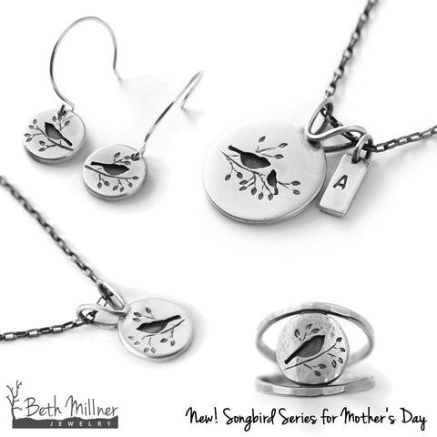 Mother's Day Songbird Series Beth Millner Jewelry
