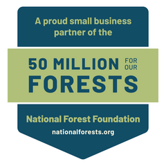 A proud business partner of the National Forest Foundation