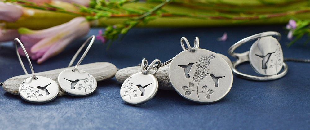 recycled sterling silver jewelry by Beth Millner Jewelry