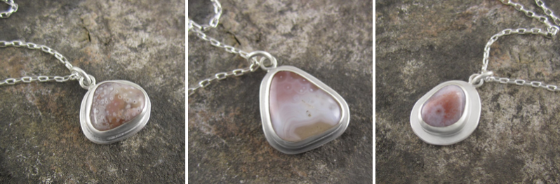 Agate Pendants by Beth Millner Jewelry