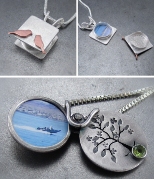 Locket Beth Millner Jewelry Silver