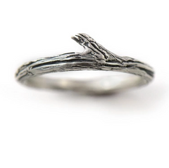 Twig Ring by Beth Millner Jewelry