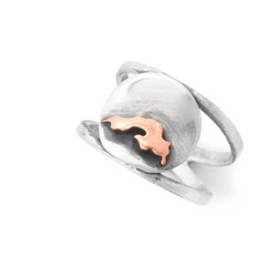 Superior Sunset Silhouette Ring by Beth Millner Jewelry