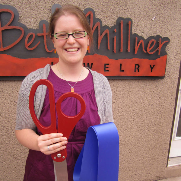 Beth Millner Jewelry Grand Opening and Ribbon Cutting in 2012
