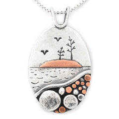 Picnic Rocks Pendant by Beth Millner Jewelry