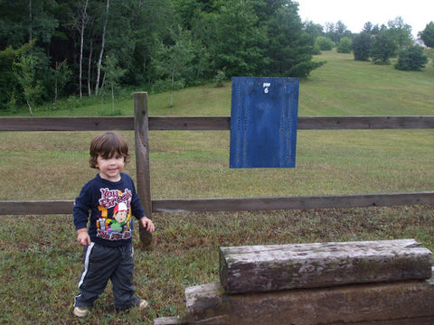 Beth Millner Ambassador Alaina's son Breslin at the Al Quaal Recreation Area.