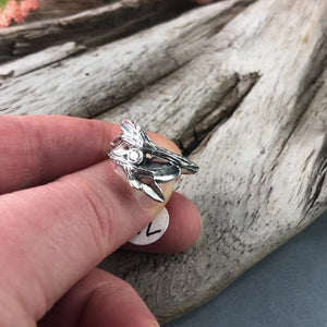 Entwined Branches Twig Ring