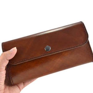 Handcrafted Leather Clutch Wallet, Artisan Goods handmade by Beth Millner Jewelry