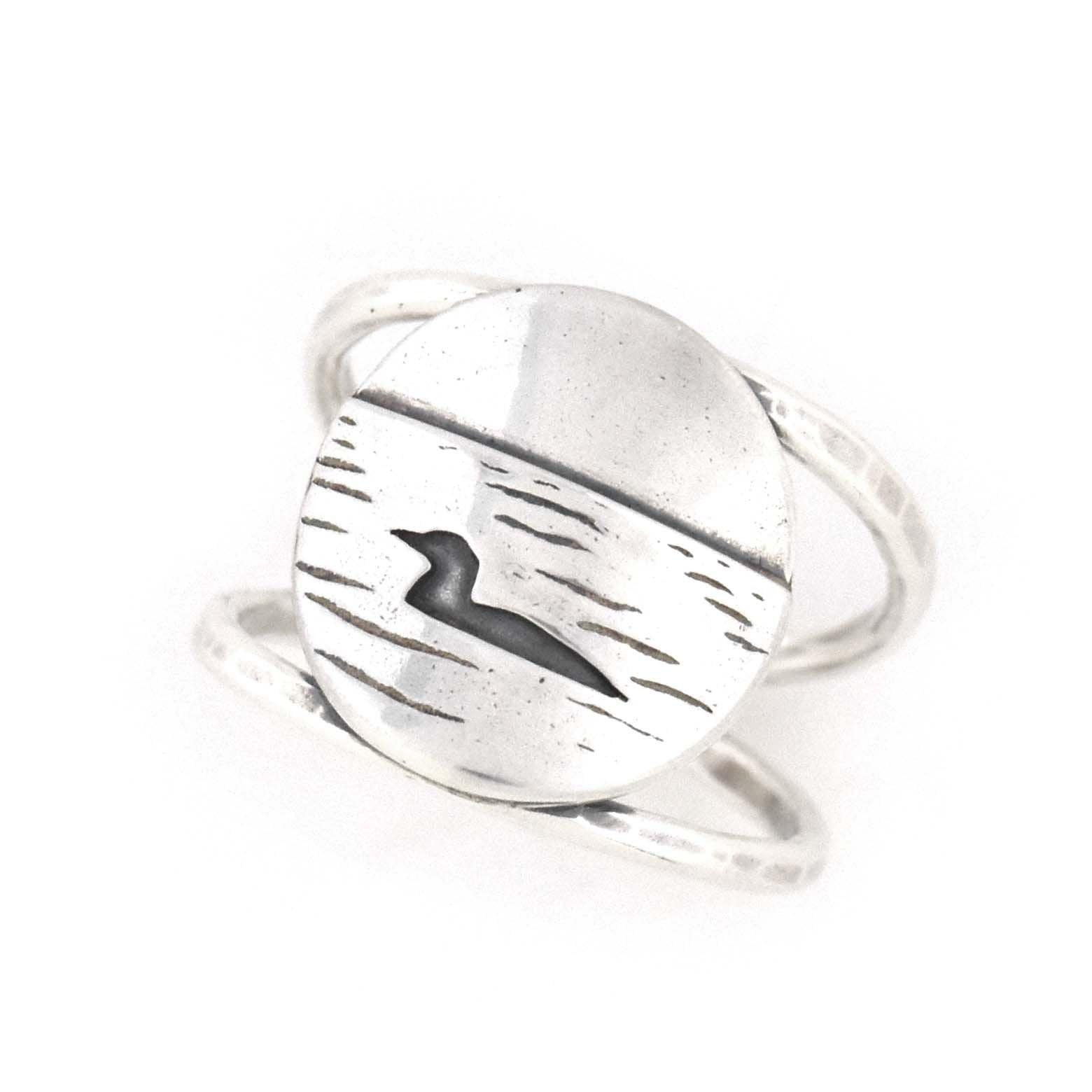 Loon Lake Ring, Ring handmade by Beth Millner Jewelry