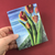 Mother's Day Spring Tulip Bouquet Greeting Card - Tree Planted with Purchase, Artisan Goods handmade by Beth Millner Jewelry