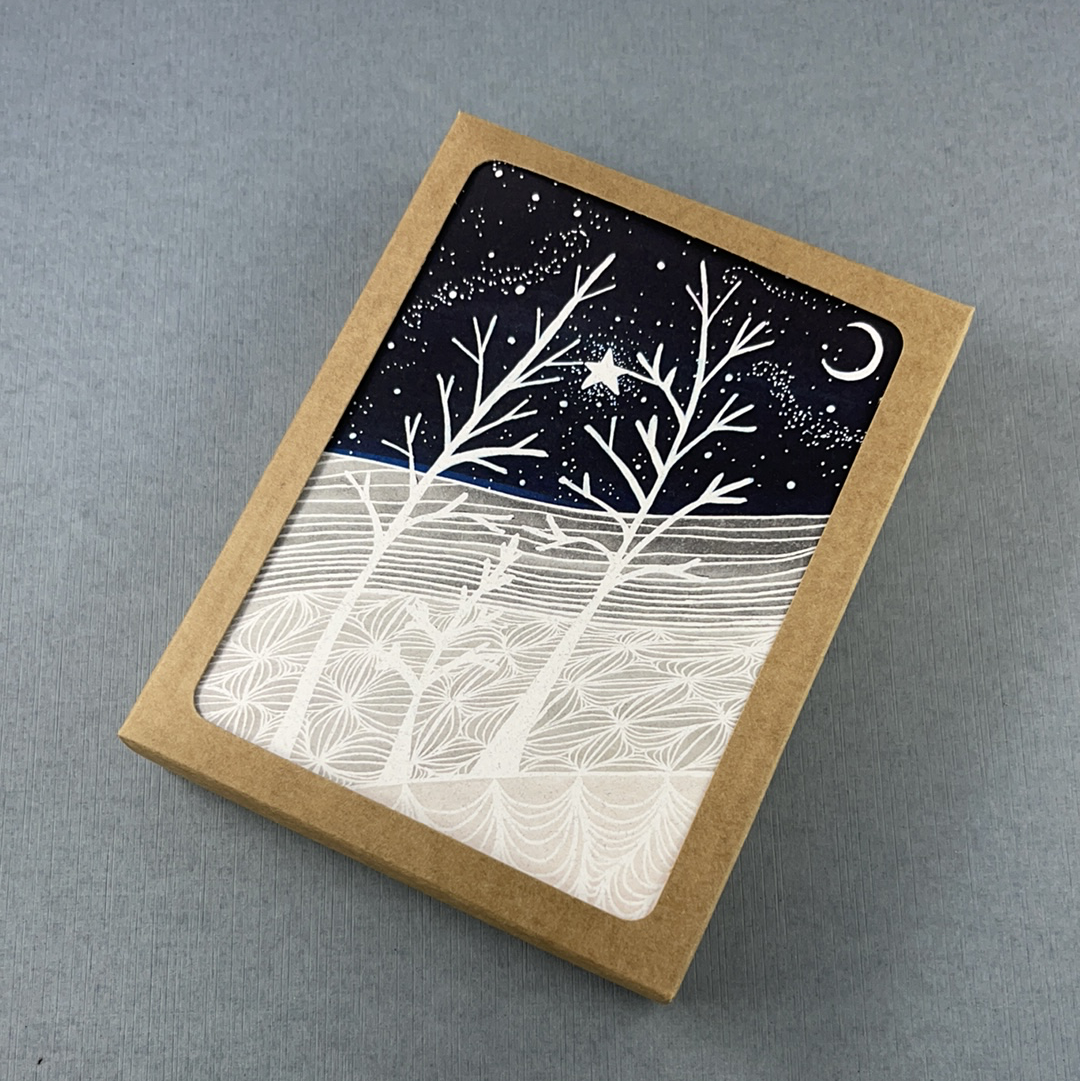 Growing Tree Family Greeting Card - Pack of 10, Artisan Goods handmade by Beth Millner Jewelry