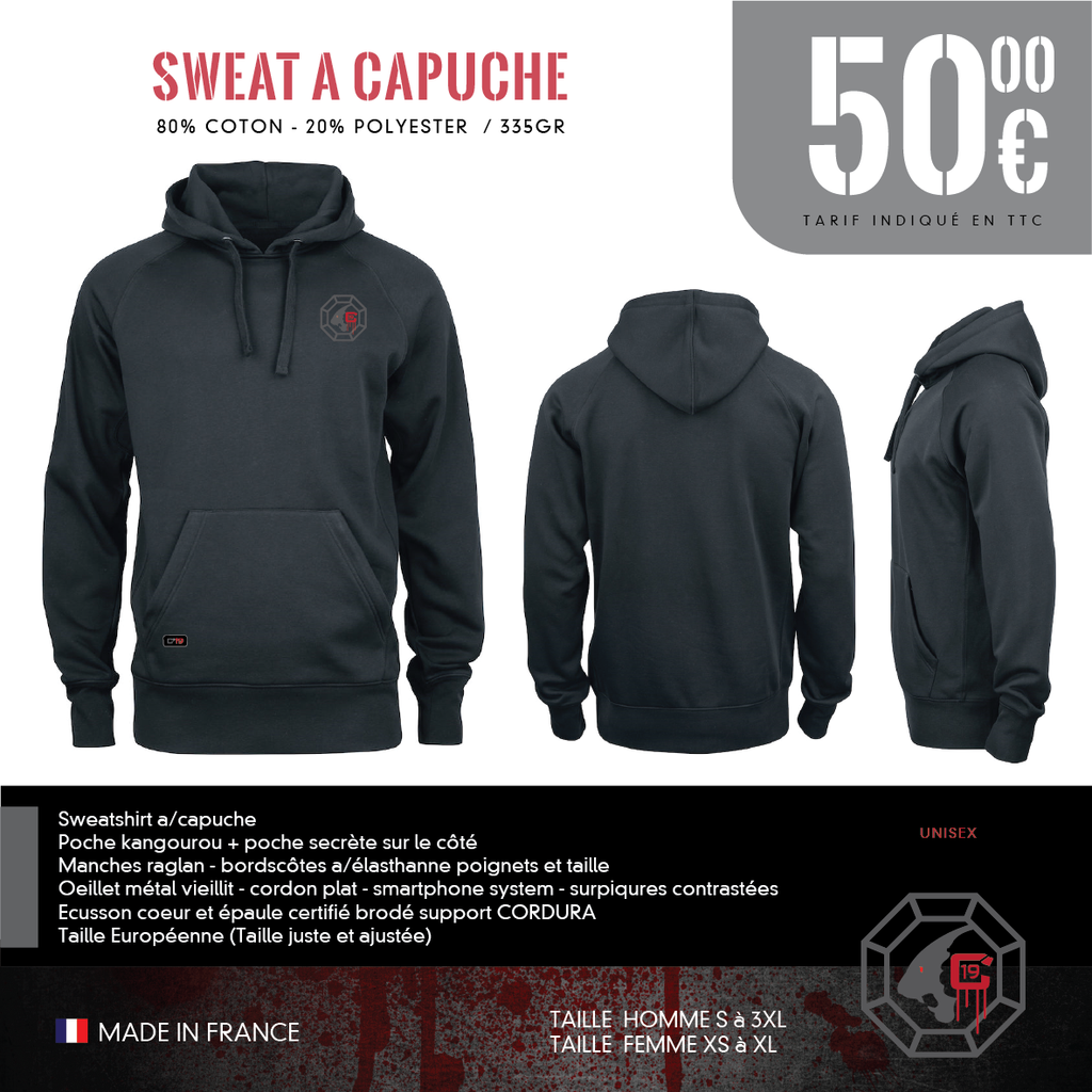Sweat a Capuche