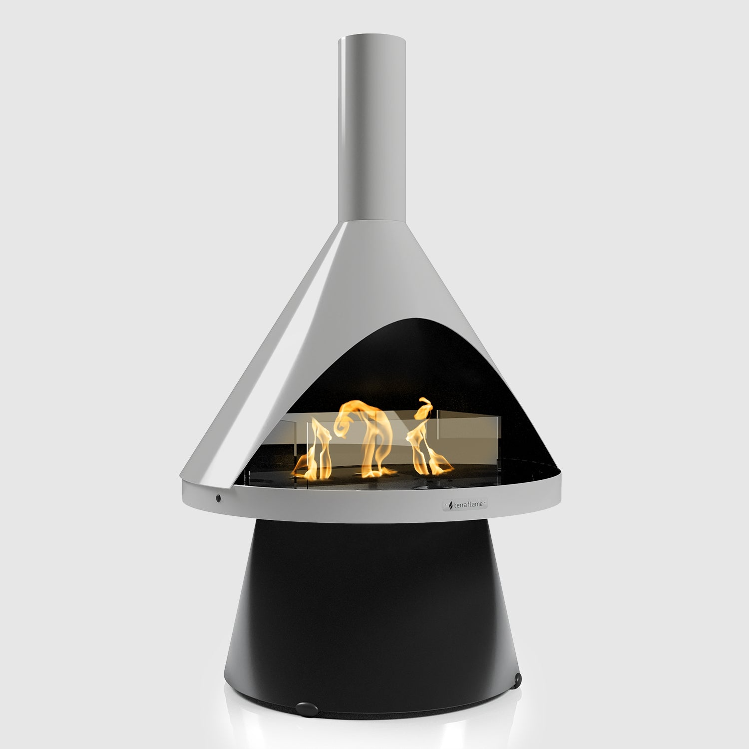 Lloyd Modern Gel Fuel Fireplace