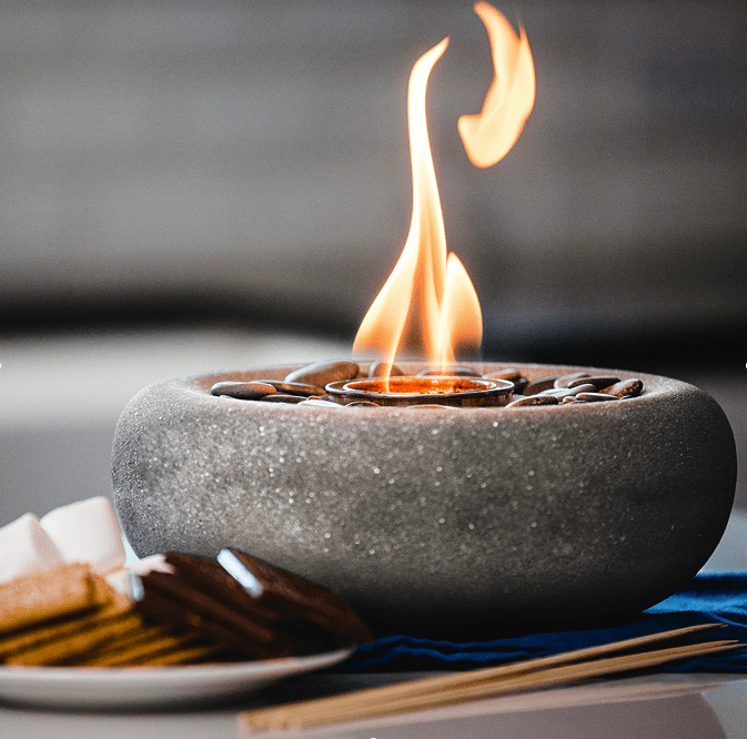 Zen Fire Bowl Table Top