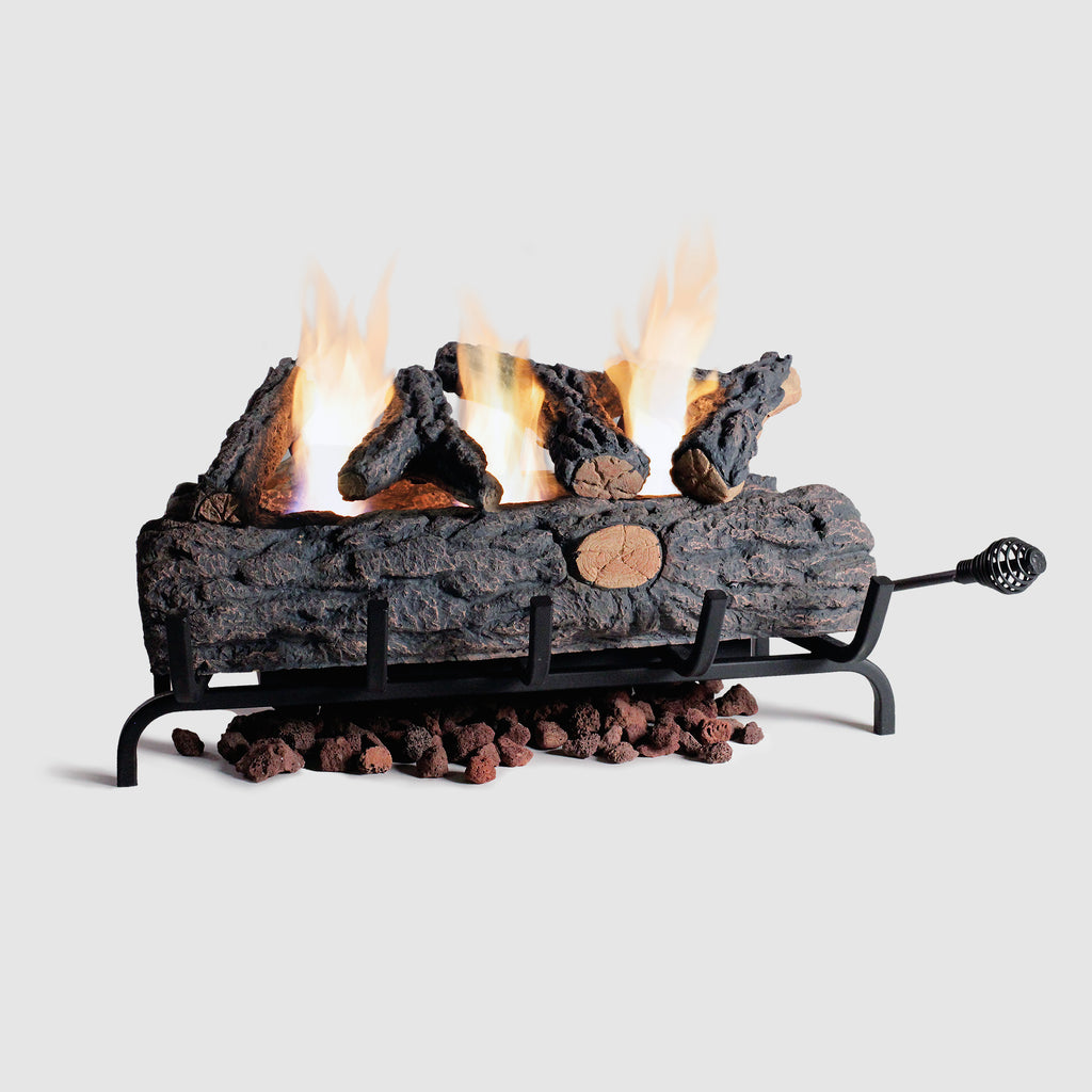 Gel Fuel Fire Log Insert 24 Inch