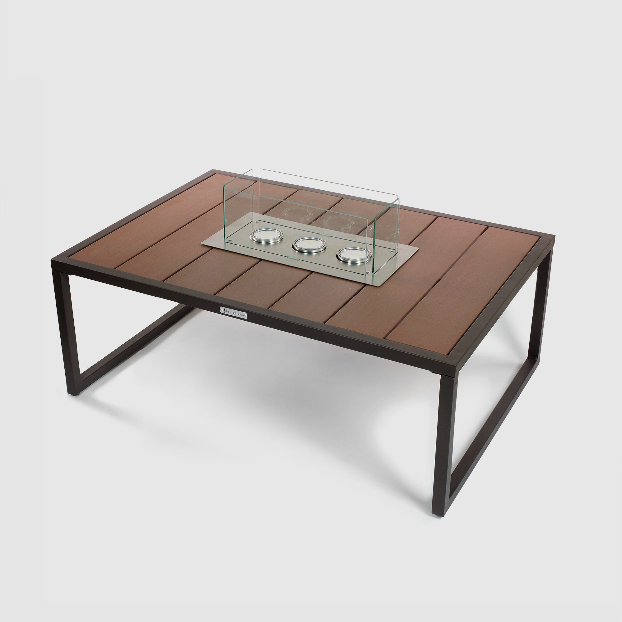 Nero Fire Table in Espresso