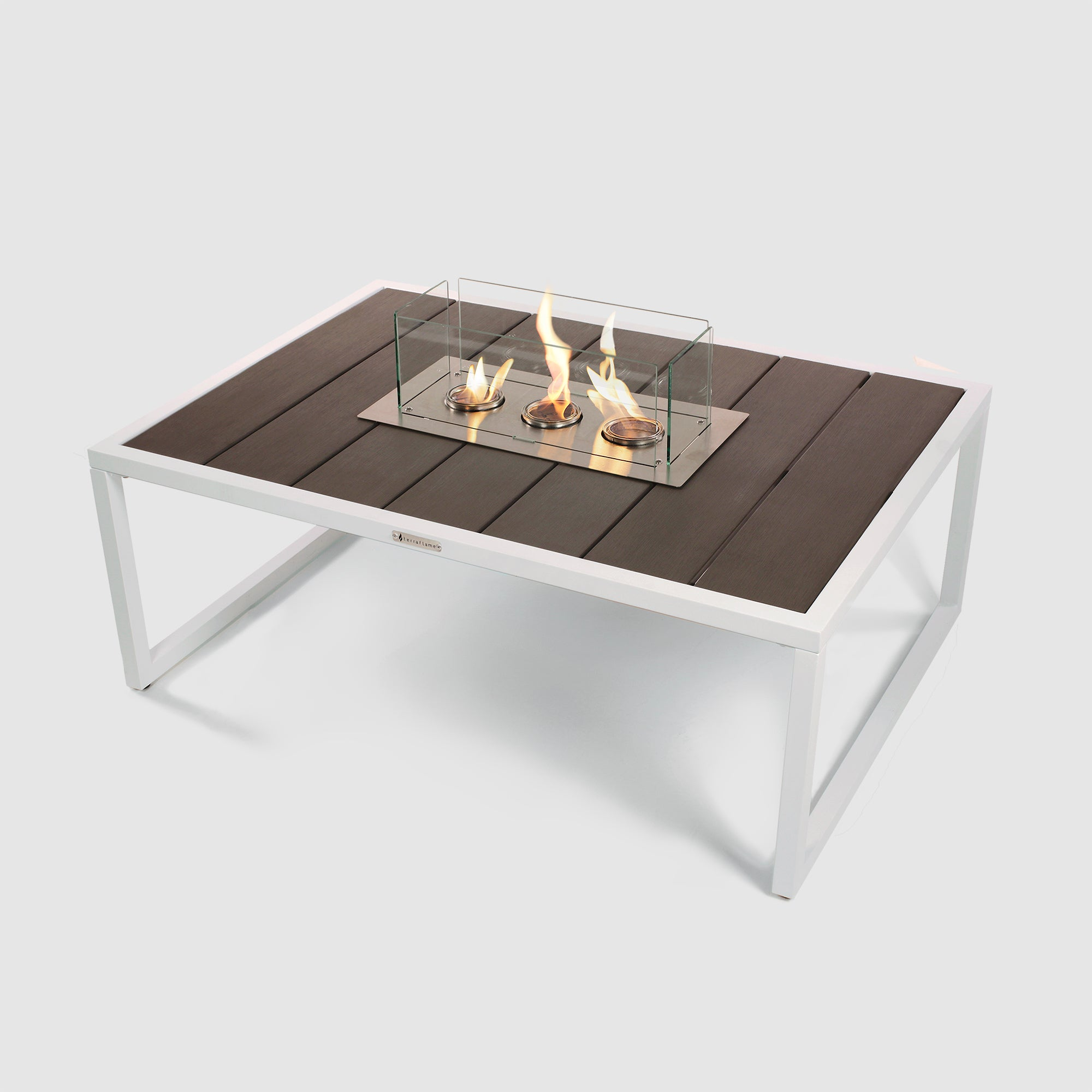 Nero Fire Table in Grey