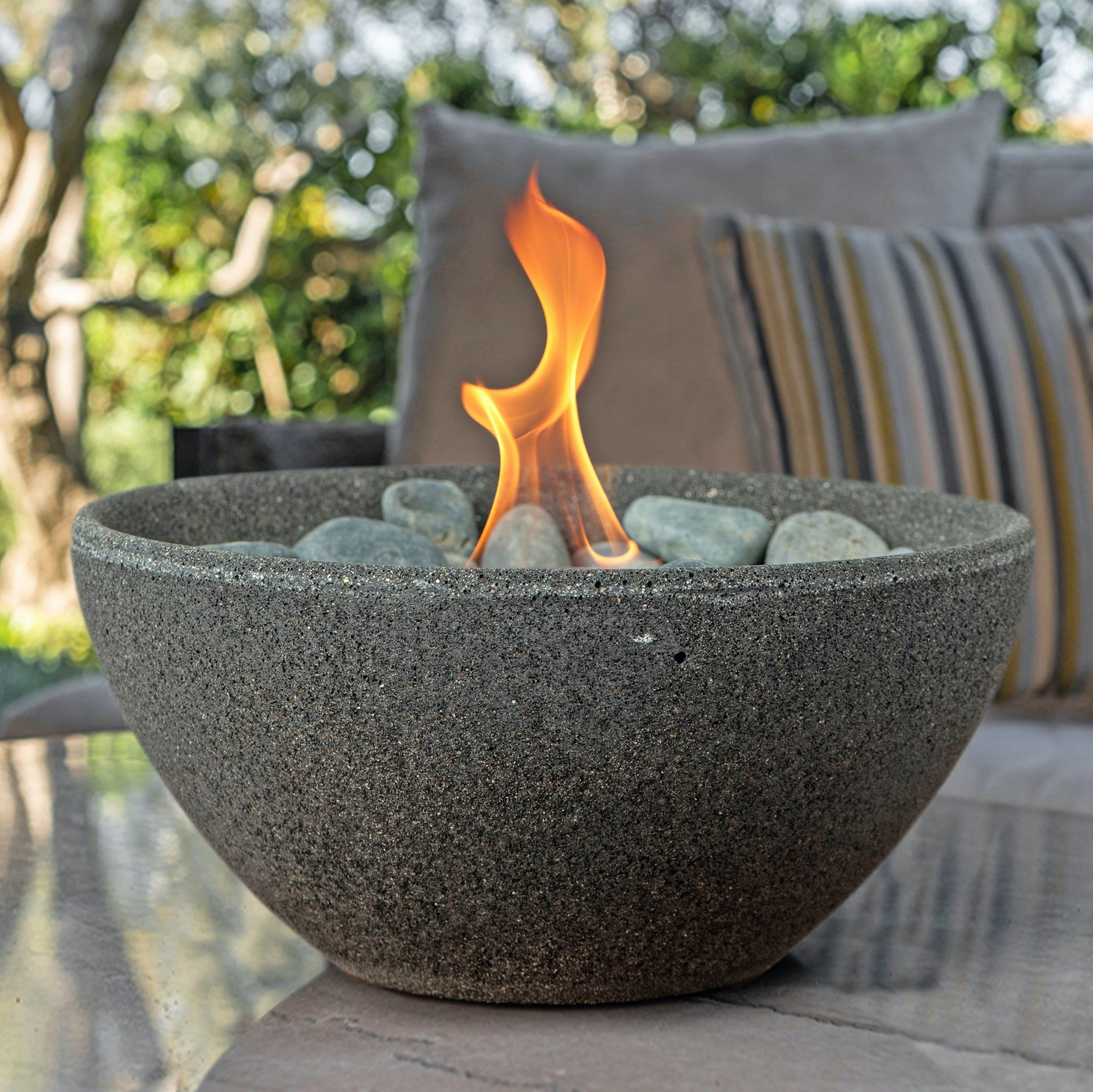 Basin Fire Bowl Table Top