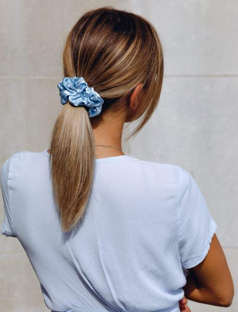 Skyler - Deluxe Mulberry Silk Scrunchie